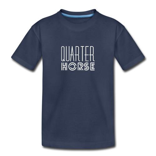 qh logo white png - Kids' Premium T-Shirt