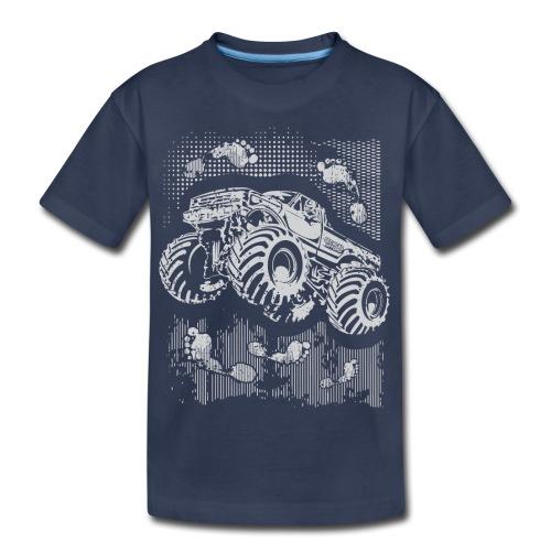 Monster Big Foot Grunge Baby & Toddler Shirts - Kids' Premium T-Shirt