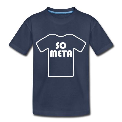 Meta Shirt on a Shirt - Kids' Premium T-Shirt