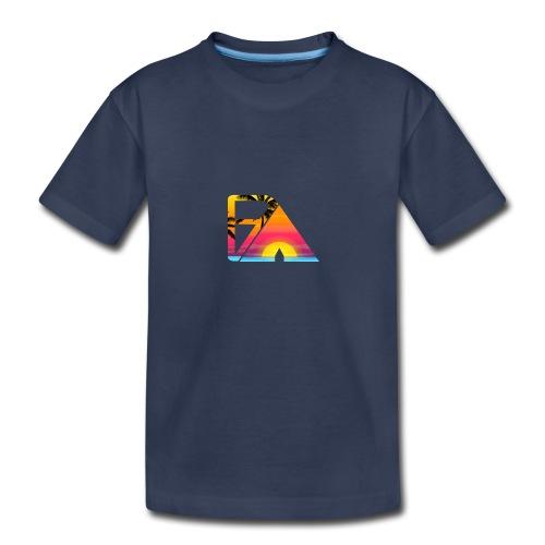 Beach theme - Kids' Premium T-Shirt