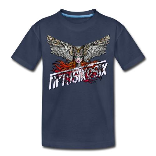 5606 - Wise Owl, Madison - Kids' Premium T-Shirt
