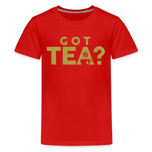 Got Tea GOLD - Kids' Premium T-Shirt