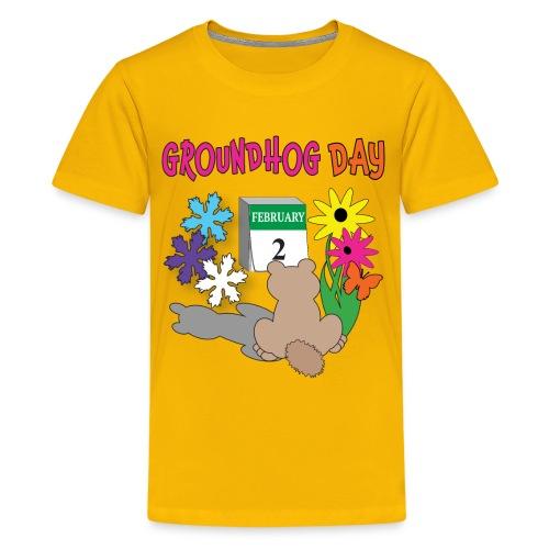 Groundhog Day Dilemma - Kids' Premium T-Shirt