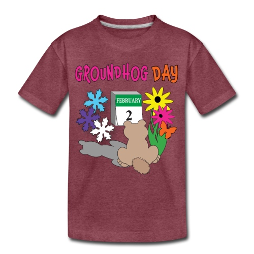 Groundhog Day Dilemma - Kids' Premium T-Shirt
