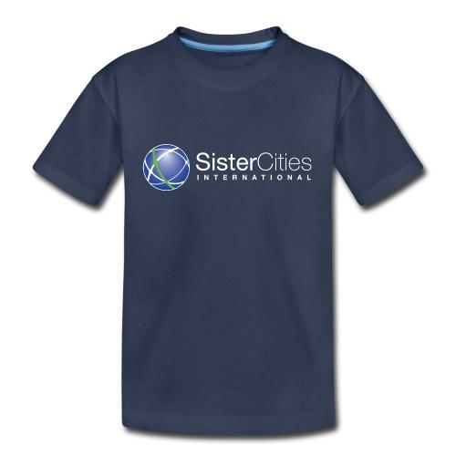 sci logo white top png - Kids' Premium T-Shirt
