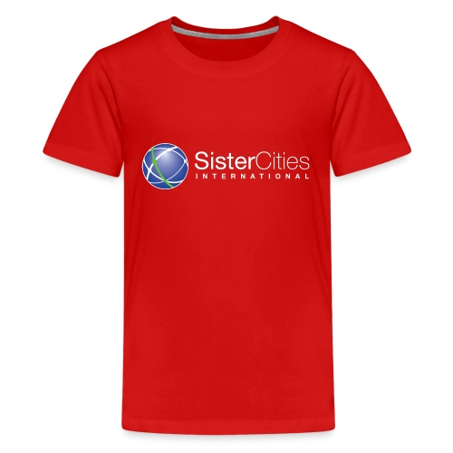 sci logo white top png - Kids' Premium T-Shirt