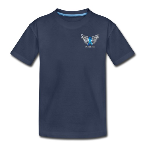 Diabetes - Strength and Courage - Kids' Premium T-Shirt