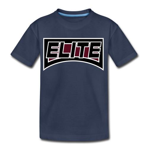elite 4 inch crest logo file - Kids' Premium T-Shirt