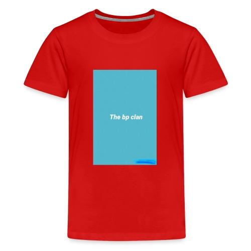 bp blue - Kids' Premium T-Shirt