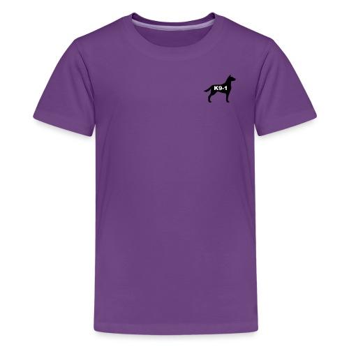 k9-1 Logo Large - Kids' Premium T-Shirt