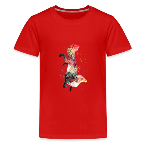 Fox Spirit Animal - Kids' Premium T-Shirt