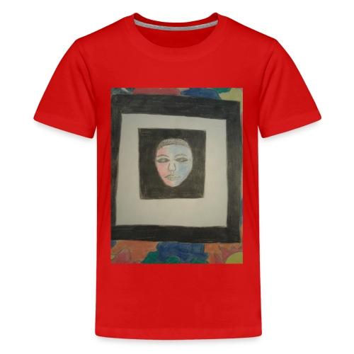 The face - Kids' Premium T-Shirt