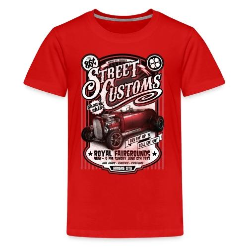 street Shirt Designs - Kids' Premium T-Shirt
