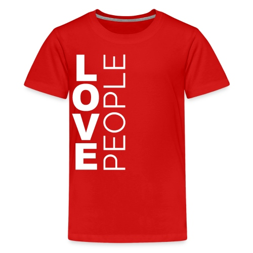 Love People (vision month) - Kids' Premium T-Shirt