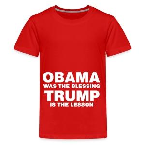 blessing white - Kids' Premium T-Shirt