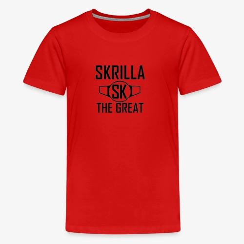 Skrilla V1 - Red - Kids' Premium T-Shirt
