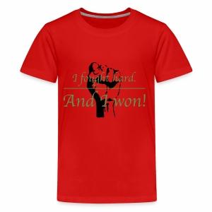 I Won! - Kids' Premium T-Shirt
