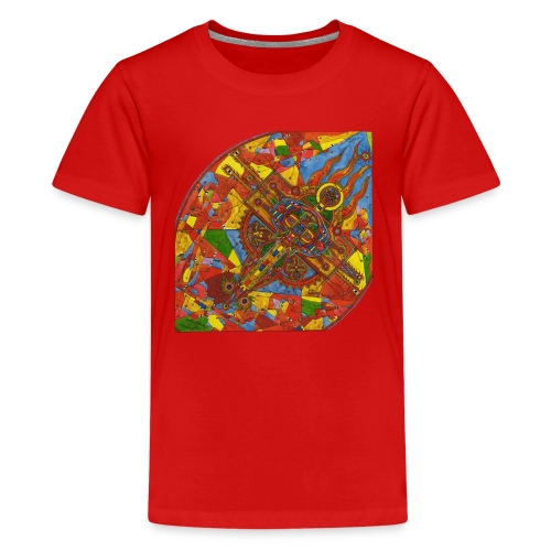 Adam the Cherub (AdmaEl Kirub) - Kids' Premium T-Shirt