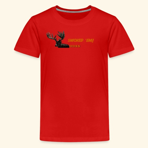 smoked 'em orange - Kids' Premium T-Shirt