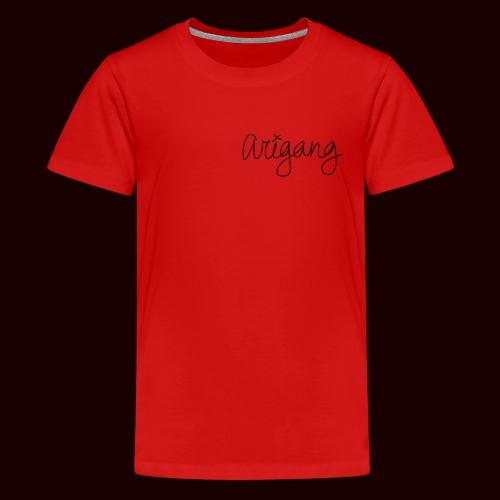 AriGang logo - Kids' Premium T-Shirt