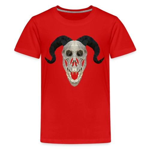 Devil Skull - Kids' Premium T-Shirt