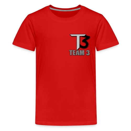 TEAM 3 LOGO - Kids' Premium T-Shirt