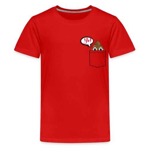 Pocket O Poop - Kids' Premium T-Shirt