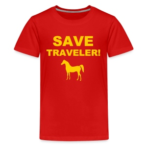 Save Traveler - Kids' Premium T-Shirt