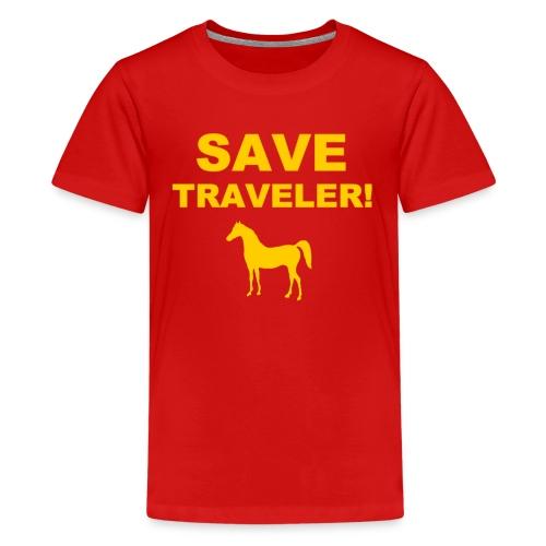 Save Traveler - Kids' Premium T-Shirt