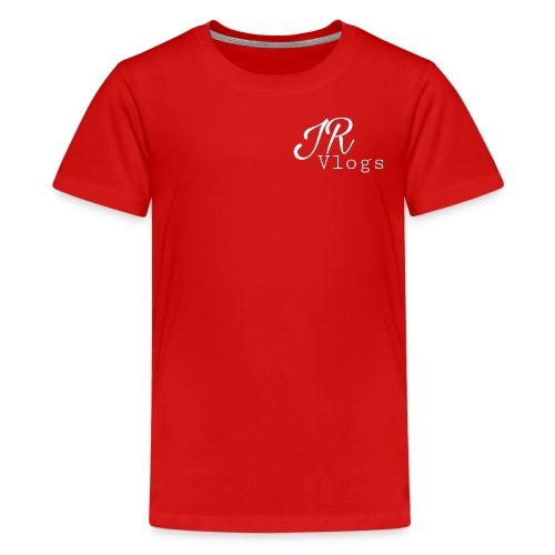 white juan Rojas vlogs - Kids' Premium T-Shirt