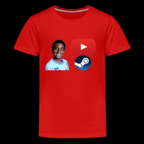 Steam and Youtube - Kids' Premium T-Shirt