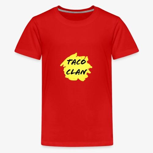 TACO CLAN LOGO MERCH - Kids' Premium T-Shirt