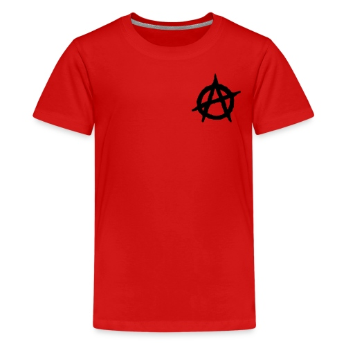 ANVRCHY BLACK - Kids' Premium T-Shirt