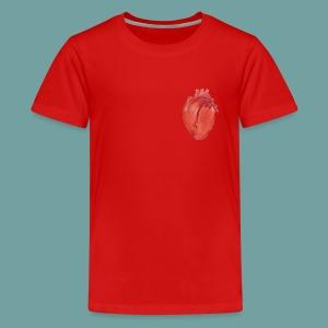 Heart Anatomy Shirt design - Kids' Premium T-Shirt