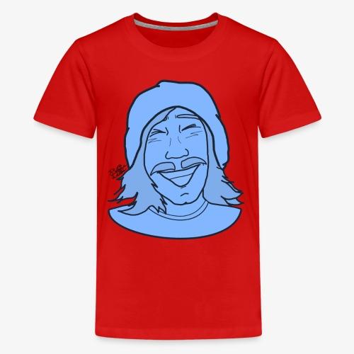 RUDERHYMER Artwork (Blue) 2 - Kids' Premium T-Shirt