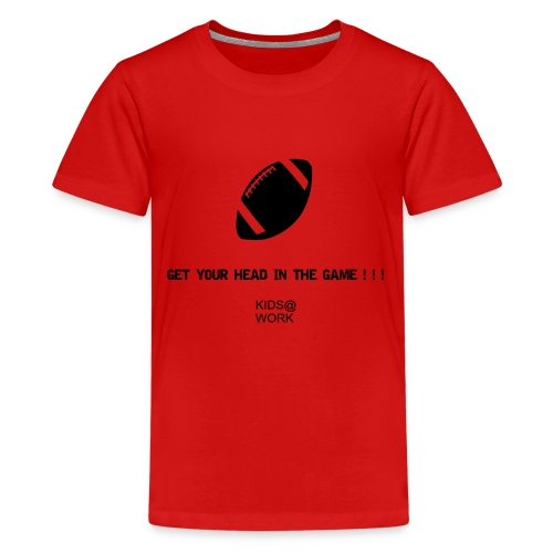 Kids @ Football - Kids' Premium T-Shirt