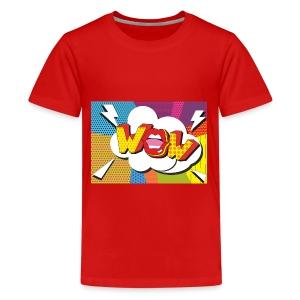 Pop art wow. - Kids' Premium T-Shirt