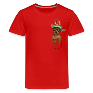 Is that a chaweenie in your pocket? - Kids' Premium T-Shirt