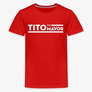 Tito Jackson For Mayor - Kids' Premium T-Shirt