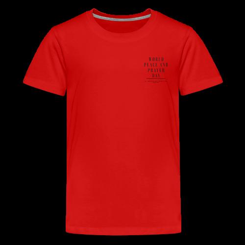 World Peace and Prayer Day - Kids' Premium T-Shirt