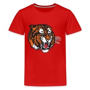 the beast tiger - Kids' Premium T-Shirt
