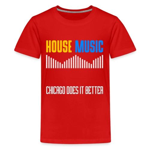 Chicago does it better design - Kids' Premium T-Shirt