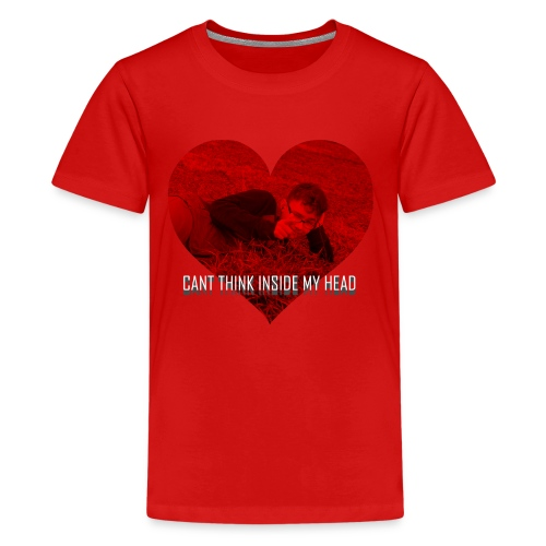 Can't Think Inside My Head - Kids' Premium T-Shirt