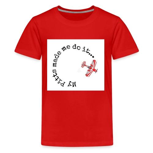 my pitt made me do it - Kids' Premium T-Shirt