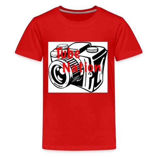 Tube Nation Camera T-shirts - Kids' Premium T-Shirt