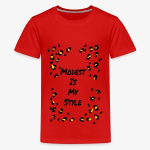 Modest is my style - Kids' Premium T-Shirt