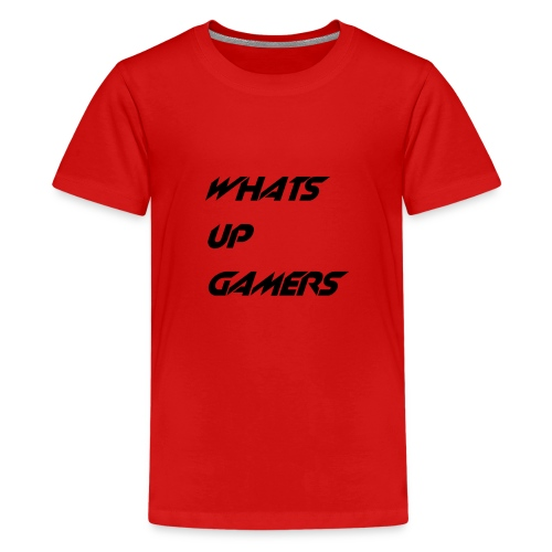 whats up gamers collection - Kids' Premium T-Shirt
