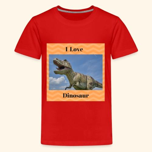 I Love dinosaure - Kids' Premium T-Shirt