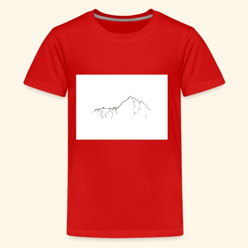 Tiny Mountain - Kids' Premium T-Shirt