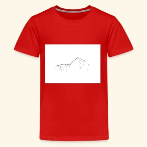 Tiny Mountain - Kids' Premium T-Shirt